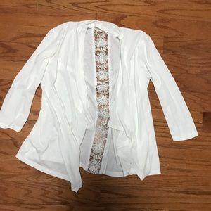 S Quarter Length Sleeve Cardigan